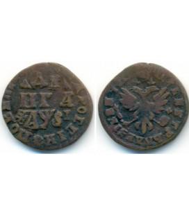 Денга (1/2 копейки) 1716 года