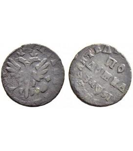Полушка (1/4 копейки) 1716 года