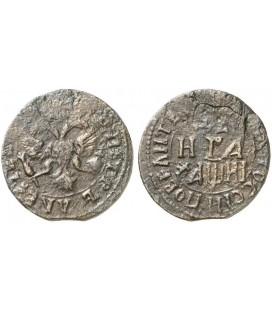 Денга (1/2 копейки) 1718 года