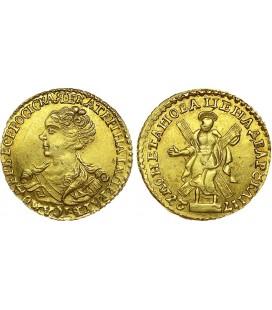 2 рубля 1727 года