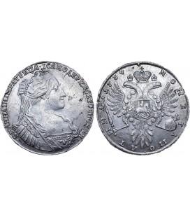 Полтина 1734 года