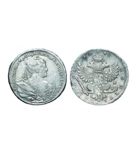 Полтина 1740 года