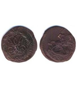 Полушка 1758 года