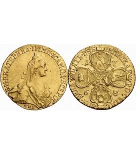 5 рублей 1768 года