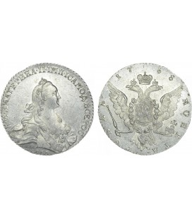 1 рубль 1768 года