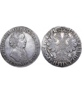 1 рубль 1704 год фото