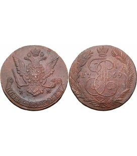 5 копеек 1769 года
