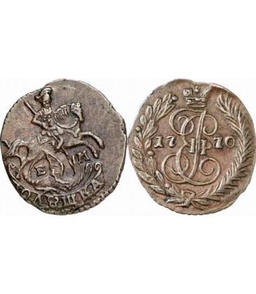 Полушка 1770 года цена чеканка монет россии