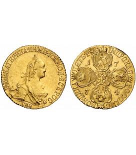5 рублей 1774 года