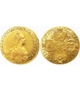 5 рублей 1775 года
