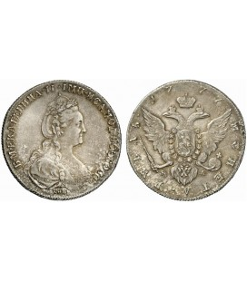 1 рубль 1777 года