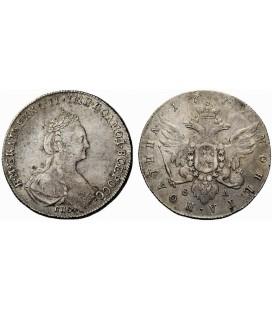 Полтина 1777 года серебро