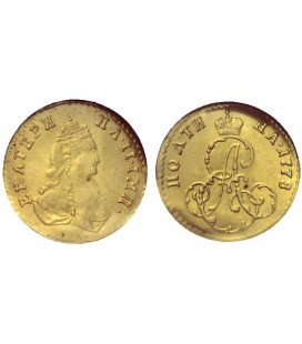 Полтина золотом 1778 года