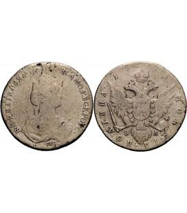Полтина 1778 года серебро
