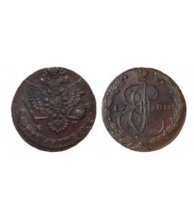 5 копеек 1780 года