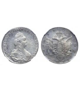 Полтина 1791 года