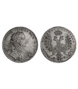1 рубль 1707 года (года акириллицей)